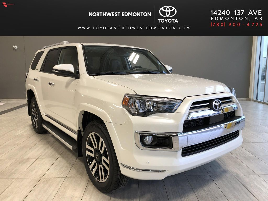 Blizzard Pearl 2021 Toyota 4Runner Limited