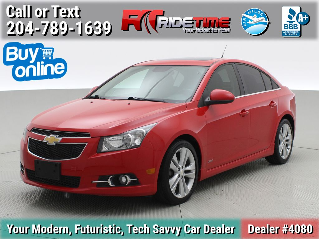 Red[Crystal Red Tintcoat] 2014 Chevrolet Cruze