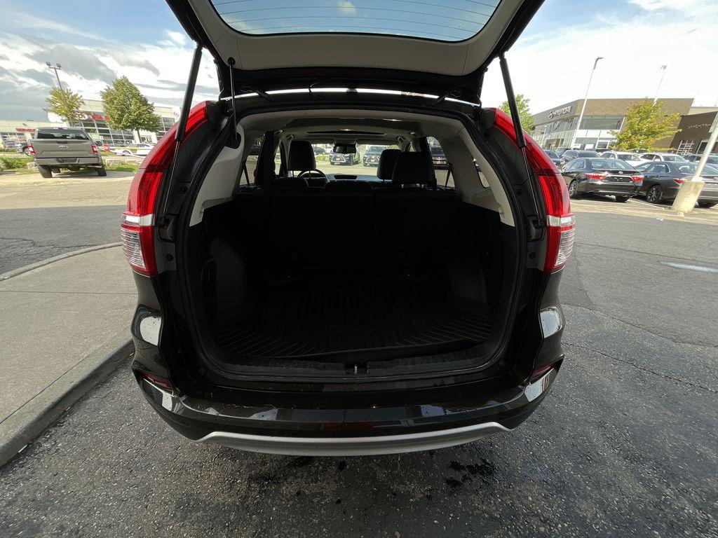 Dark Brown 2016 Honda CR-V Left Side Rear Seat  Photo in Brampton ON