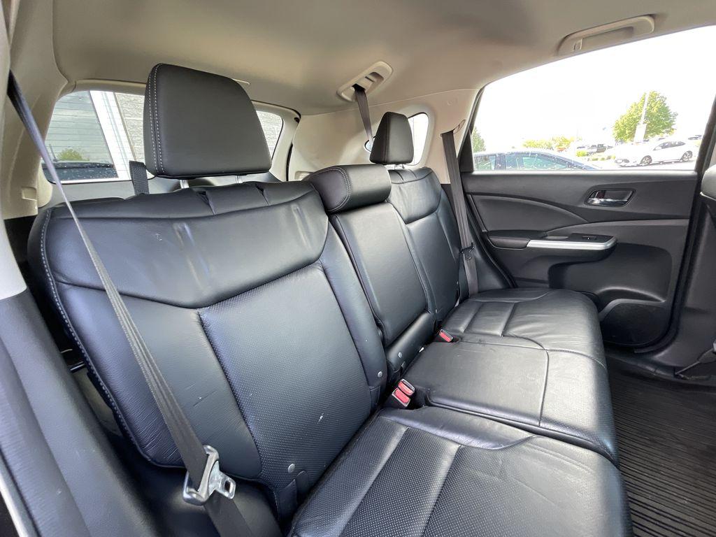 Dark Brown 2016 Honda CR-V Right Rear Interior Door Panel Photo in Brampton ON