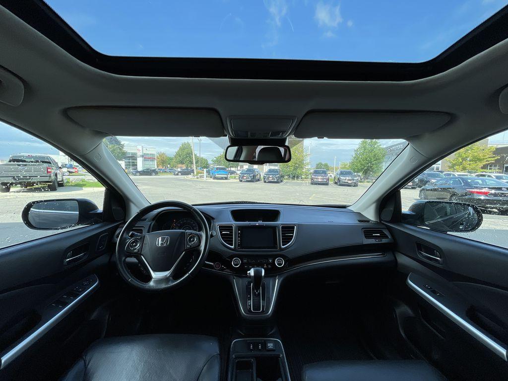 Dark Brown 2016 Honda CR-V Trunk / Cargo Area Photo in Brampton ON
