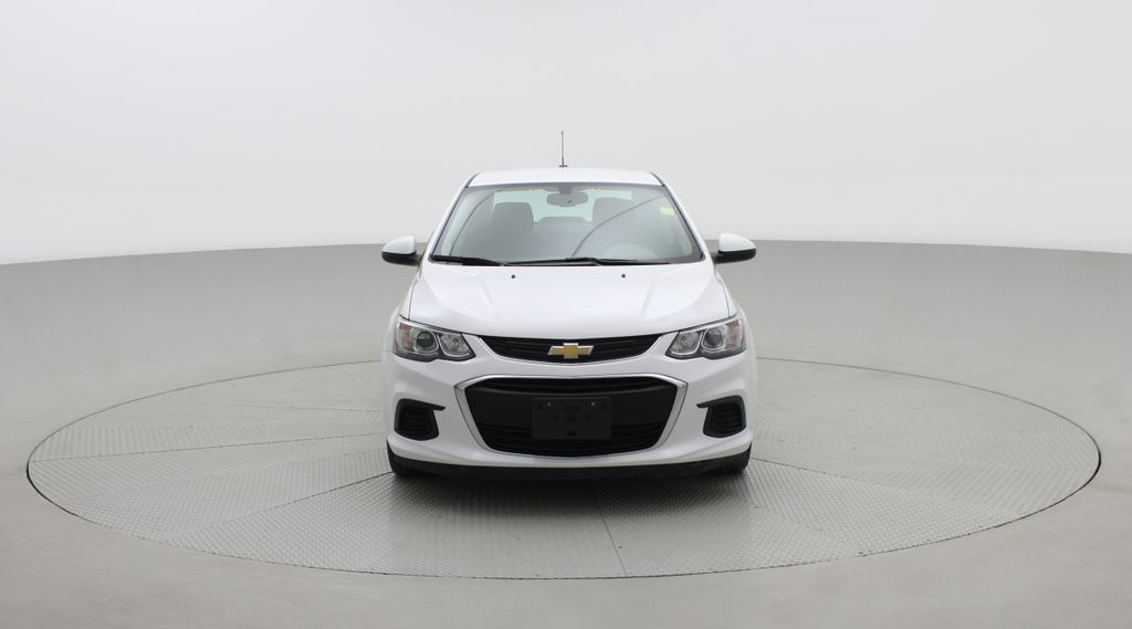 White[Summit White] 2018 Chevrolet Sonic LT Sedan - 6-Speed A/T, 4 Cylinder Engine, Front Wheel Drive Front Vehicle Photo in Winnipeg MB