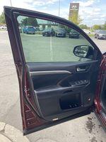Red[Ooh La La Rouge Mica] 2019 Toyota Highlander Left Side Photo in Brampton ON