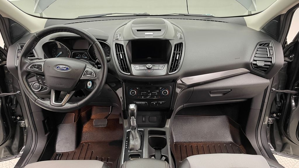 Gray[Magnetic] 2017 Ford Escape SE 4WD - Sport Package w/ Black Wheels / Grille Central Dash Options Photo in Winnipeg MB