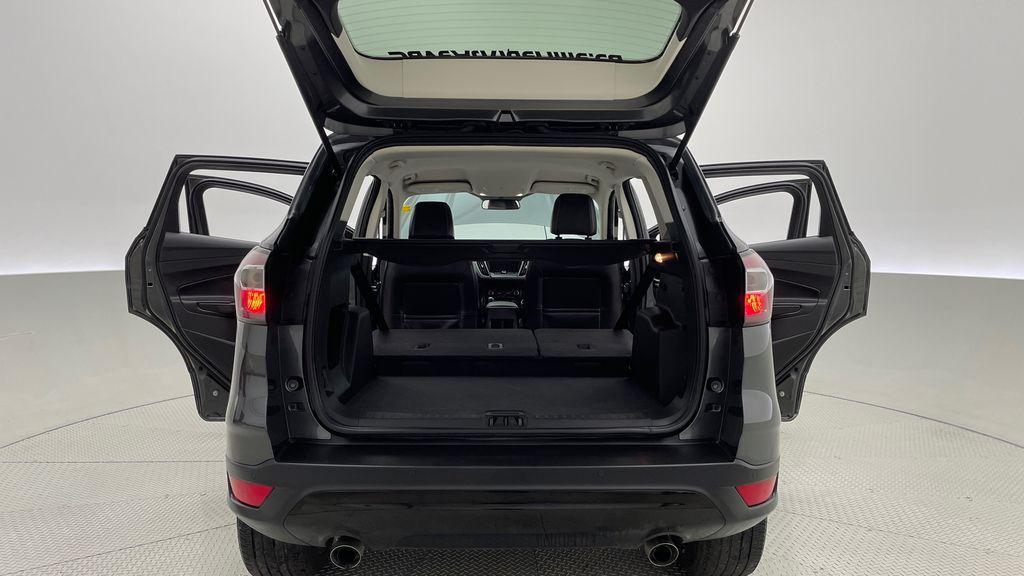 Gray[Magnetic] 2017 Ford Escape SE 4WD - Sport Package w/ Black Wheels / Grille Rear Seat: Cargo/Storage Photo in Winnipeg MB