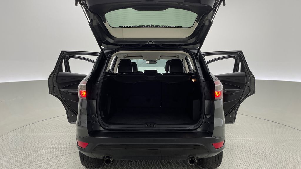 Gray[Magnetic] 2017 Ford Escape SE 4WD - Sport Package w/ Black Wheels / Grille Trunk / Cargo Area Photo in Winnipeg MB