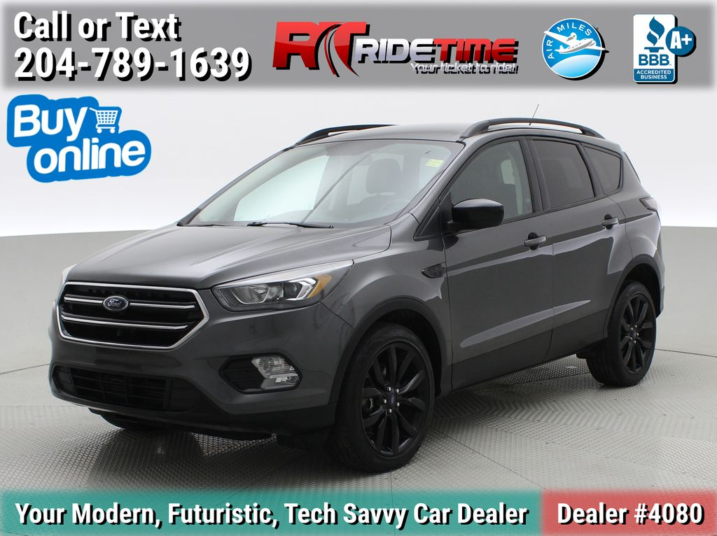 Gray[Magnetic] 2017 Ford Escape SE 4WD - Sport Package w/ Black Wheels / Grille
