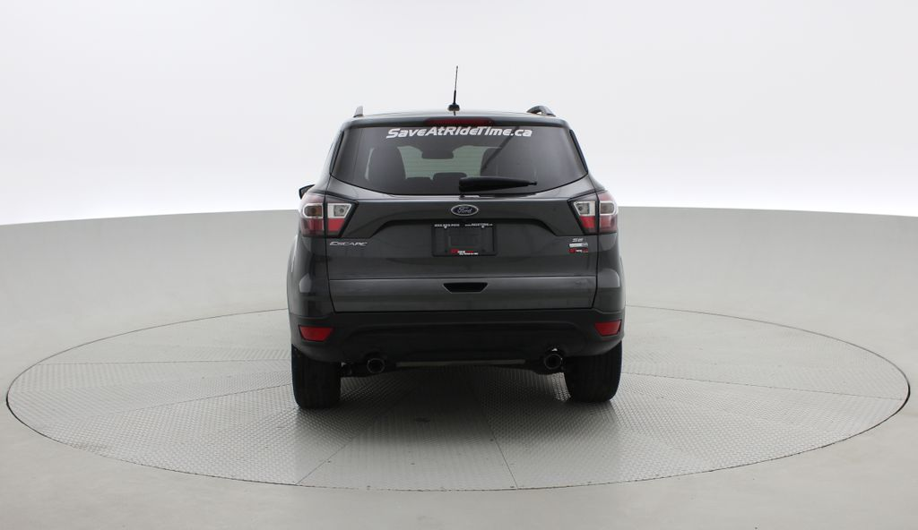 Gray[Magnetic] 2017 Ford Escape SE 4WD - Sport Package w/ Black Wheels / Grille Rear of Vehicle Photo in Winnipeg MB