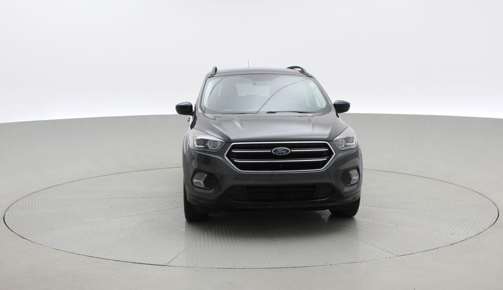 Gray[Magnetic] 2017 Ford Escape SE 4WD - Sport Package w/ Black Wheels / Grille Front Vehicle Photo in Winnipeg MB