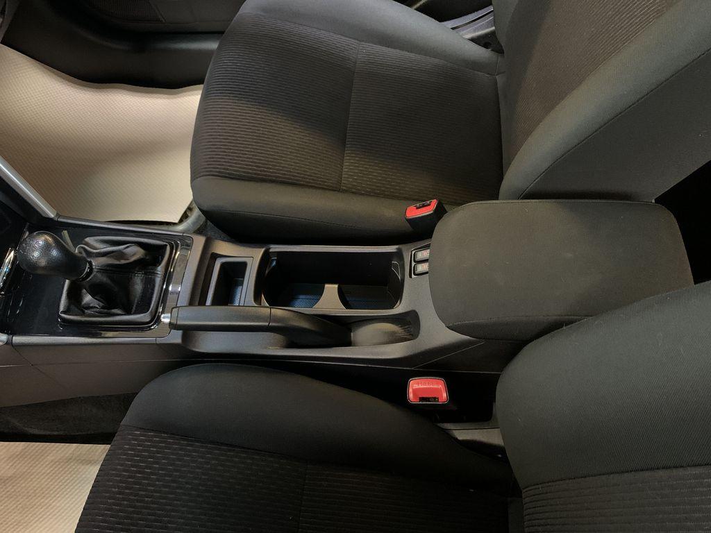 BLACK 2017 Mitsubishi Lancer SE LTD - 5MT, Bluetooth, Remote Start, Backup Cam, Heated Seats Center Console Photo in Edmonton AB