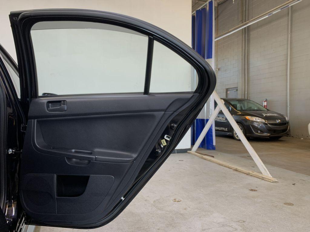 BLACK 2017 Mitsubishi Lancer SE LTD - 5MT, Bluetooth, Remote Start, Backup Cam, Heated Seats Right Rear Interior Door Panel Photo in Edmonton AB