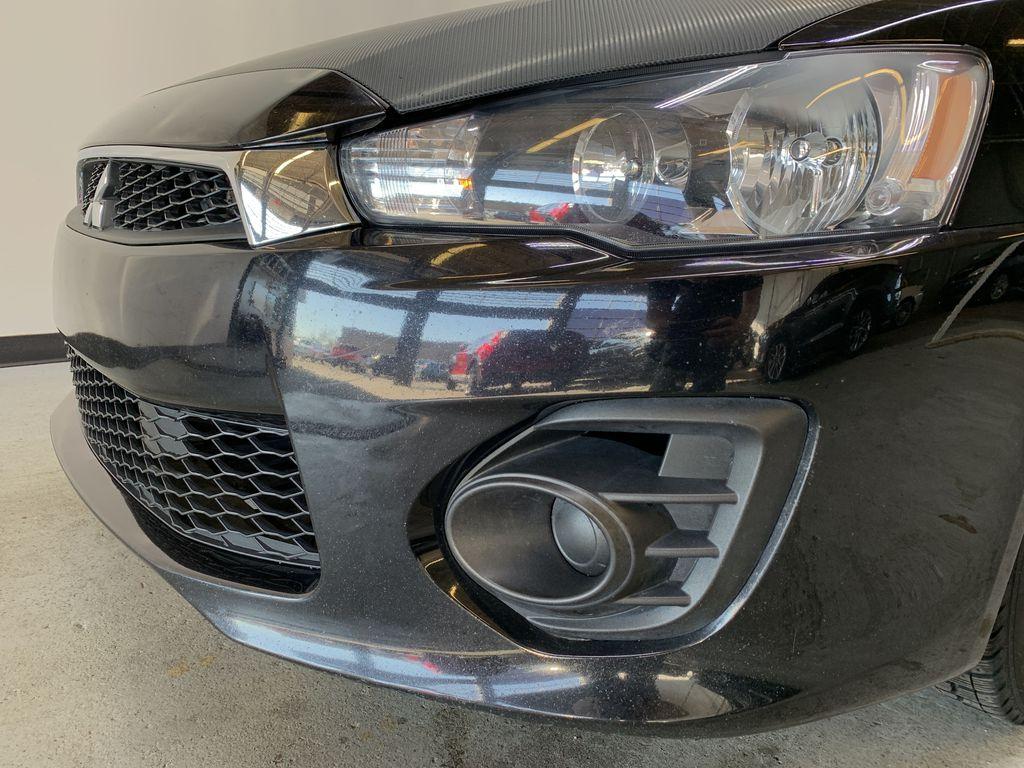 BLACK 2017 Mitsubishi Lancer SE LTD - 5MT, Bluetooth, Remote Start, Backup Cam, Heated Seats Left Front Head Light / Bumper and Grill in Edmonton AB