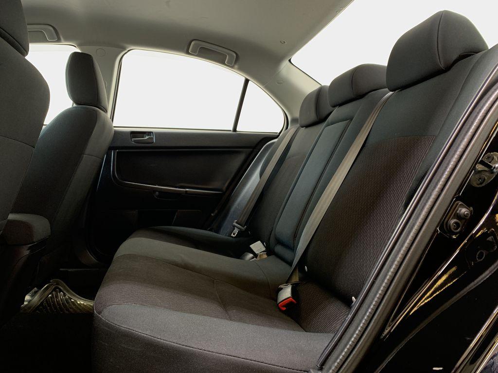 BLACK 2017 Mitsubishi Lancer SE LTD - 5MT, Bluetooth, Remote Start, Backup Cam, Heated Seats Left Side Rear Seat  Photo in Edmonton AB