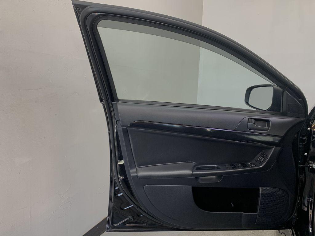 BLACK 2017 Mitsubishi Lancer SE LTD - 5MT, Bluetooth, Remote Start, Backup Cam, Heated Seats Left Front Interior Door Panel Photo in Edmonton AB