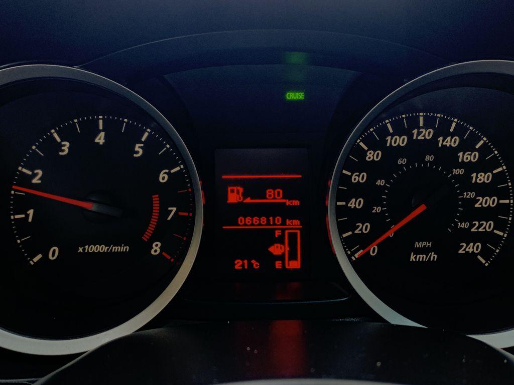 BLACK 2017 Mitsubishi Lancer SE LTD - 5MT, Bluetooth, Remote Start, Backup Cam, Heated Seats Odometer Photo in Edmonton AB