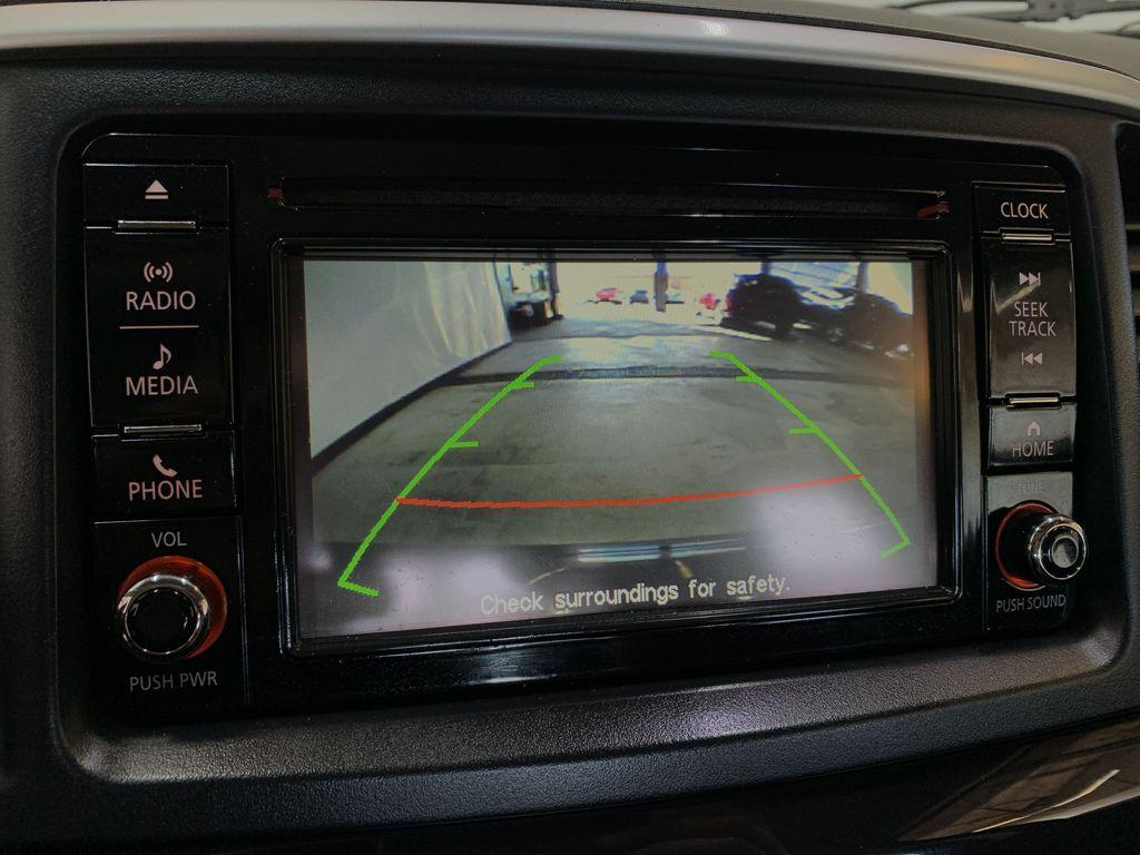 BLACK 2017 Mitsubishi Lancer SE LTD - 5MT, Bluetooth, Remote Start, Backup Cam, Heated Seats Backup Camera Closeup Photo in Edmonton AB