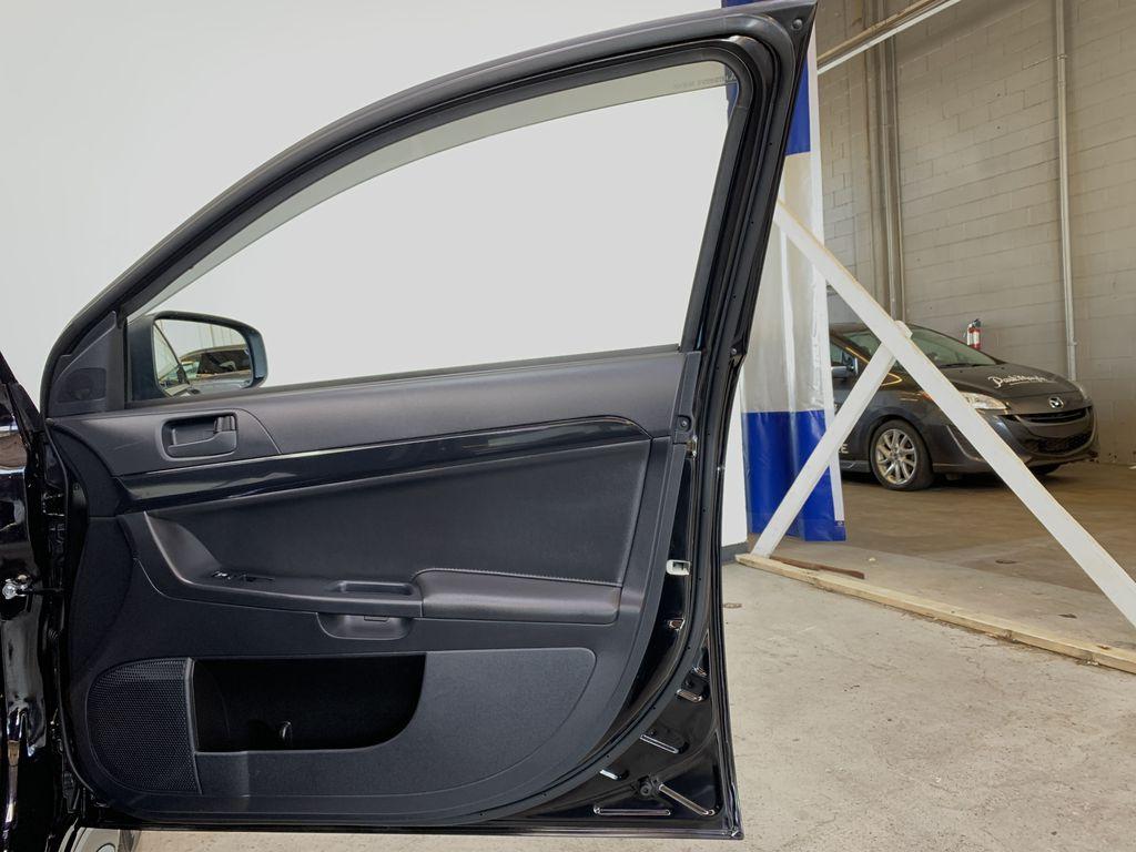 BLACK 2017 Mitsubishi Lancer SE LTD - 5MT, Bluetooth, Remote Start, Backup Cam, Heated Seats Right Front Interior Door Panel Photo in Edmonton AB