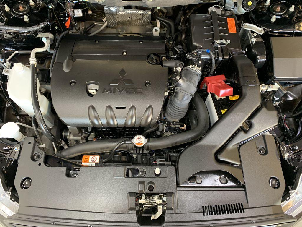 BLACK 2017 Mitsubishi Lancer SE LTD - 5MT, Bluetooth, Remote Start, Backup Cam, Heated Seats Engine Compartment Photo in Edmonton AB