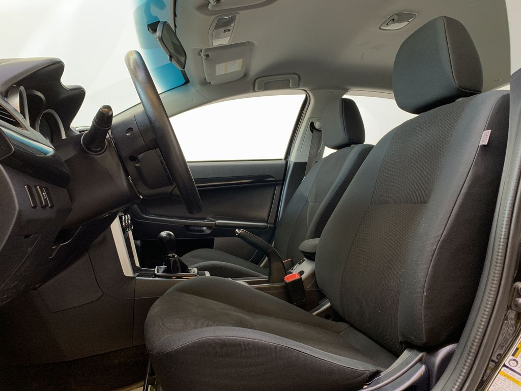BLACK 2017 Mitsubishi Lancer SE LTD - 5MT, Bluetooth, Remote Start, Backup Cam, Heated Seats Left Front Interior Photo in Edmonton AB