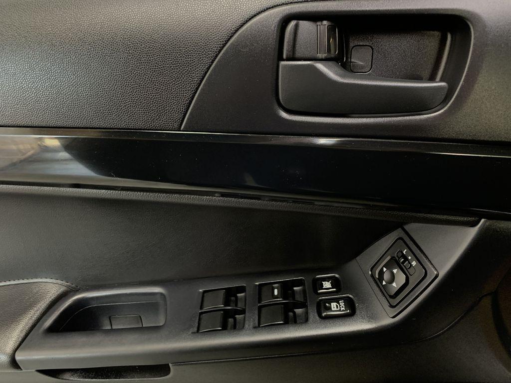 BLACK 2017 Mitsubishi Lancer SE LTD - 5MT, Bluetooth, Remote Start, Backup Cam, Heated Seats  Driver's Side Door Controls Photo in Edmonton AB