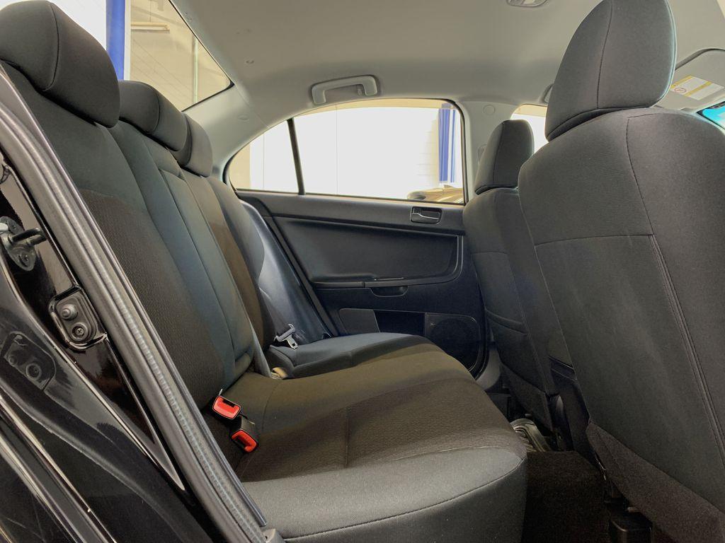 BLACK 2017 Mitsubishi Lancer SE LTD - 5MT, Bluetooth, Remote Start, Backup Cam, Heated Seats Right Side Rear Seat  Photo in Edmonton AB