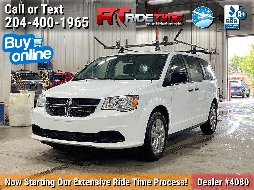 White[Bright White] 2018 Dodge Grand Caravan CVP - 7 Pass, Tinted Windows, LOW KMs
