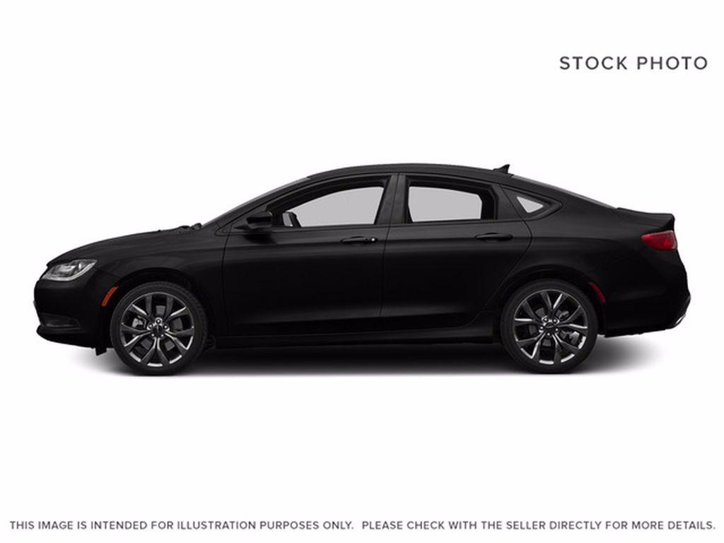 Black[Gloss Black] 2015 Chrysler 200 Left Front Interior Photo in Brandon MB