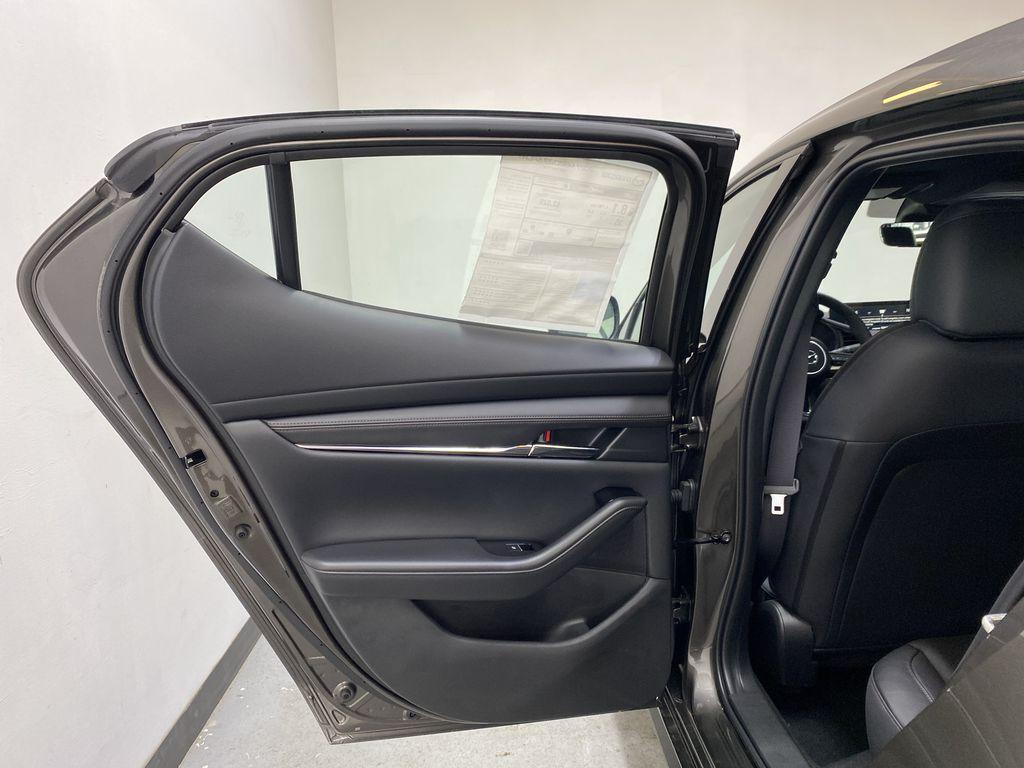 TITANIUM FLASH MICA(42S) 2021 Mazda Mazda3 Sport GT Premium FWD Left Rear Interior Door Panel Photo in Edmonton AB