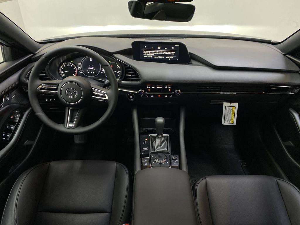 TITANIUM FLASH MICA(42S) 2021 Mazda Mazda3 Sport GT Premium FWD Strng Wheel/Dash Photo: Frm Rear in Edmonton AB