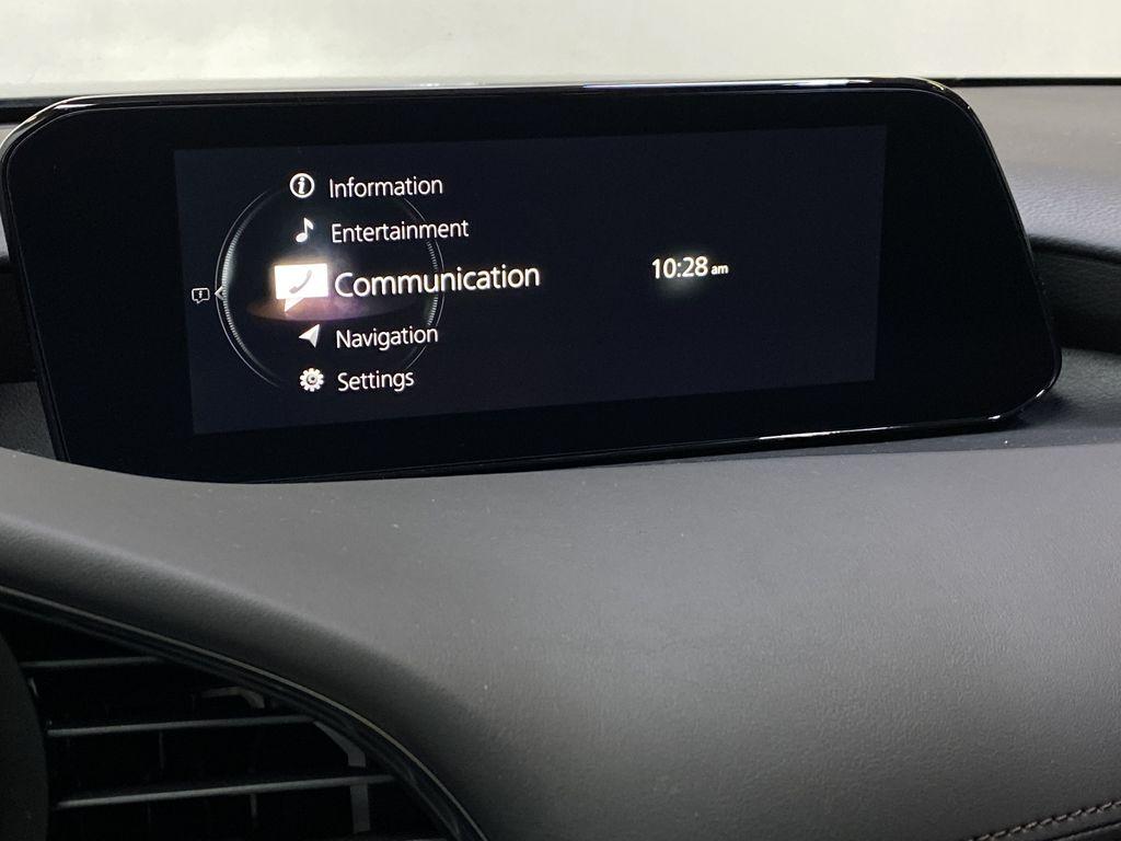 TITANIUM FLASH MICA(42S) 2021 Mazda Mazda3 Sport GT Premium FWD Radio Controls Closeup Photo in Edmonton AB