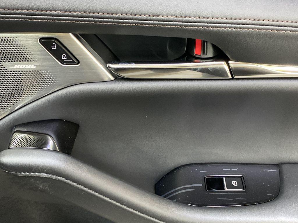 TITANIUM FLASH MICA(42S) 2021 Mazda Mazda3 Sport GT Premium FWD Passenger Front Door Controls Photo in Edmonton AB