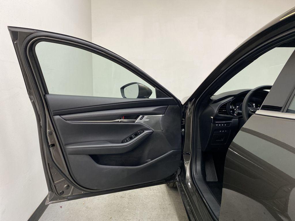 TITANIUM FLASH MICA(42S) 2021 Mazda Mazda3 Sport GT Premium FWD Left Front Interior Door Panel Photo in Edmonton AB
