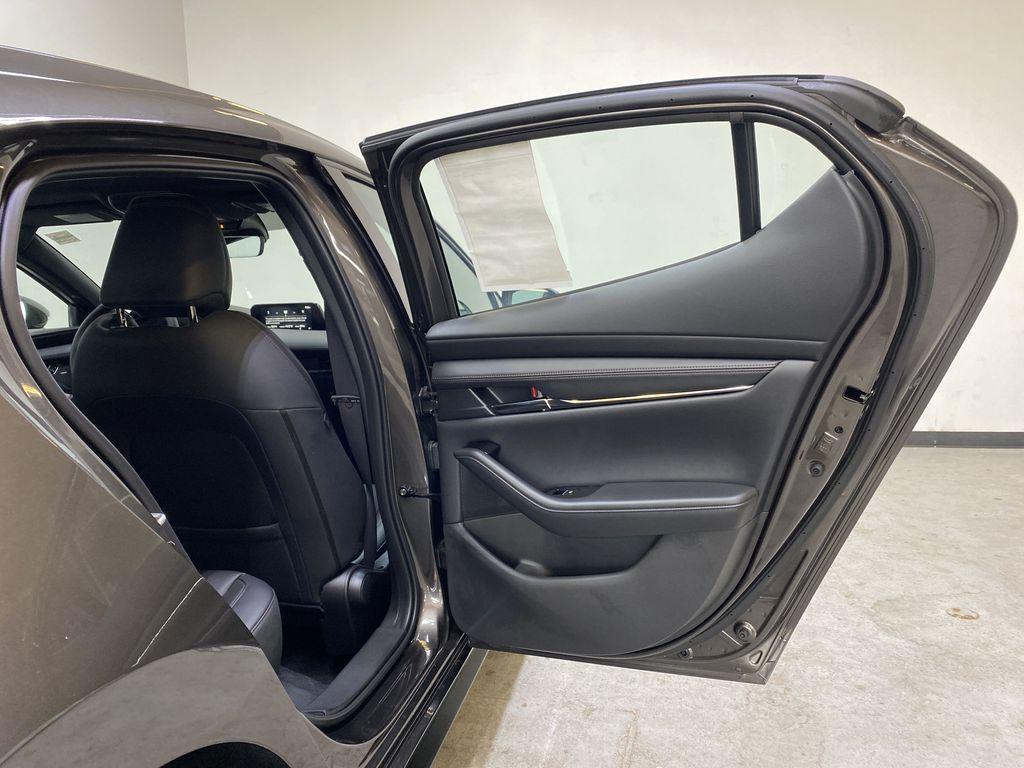 TITANIUM FLASH MICA(42S) 2021 Mazda Mazda3 Sport GT Premium FWD Right Rear Interior Door Panel Photo in Edmonton AB