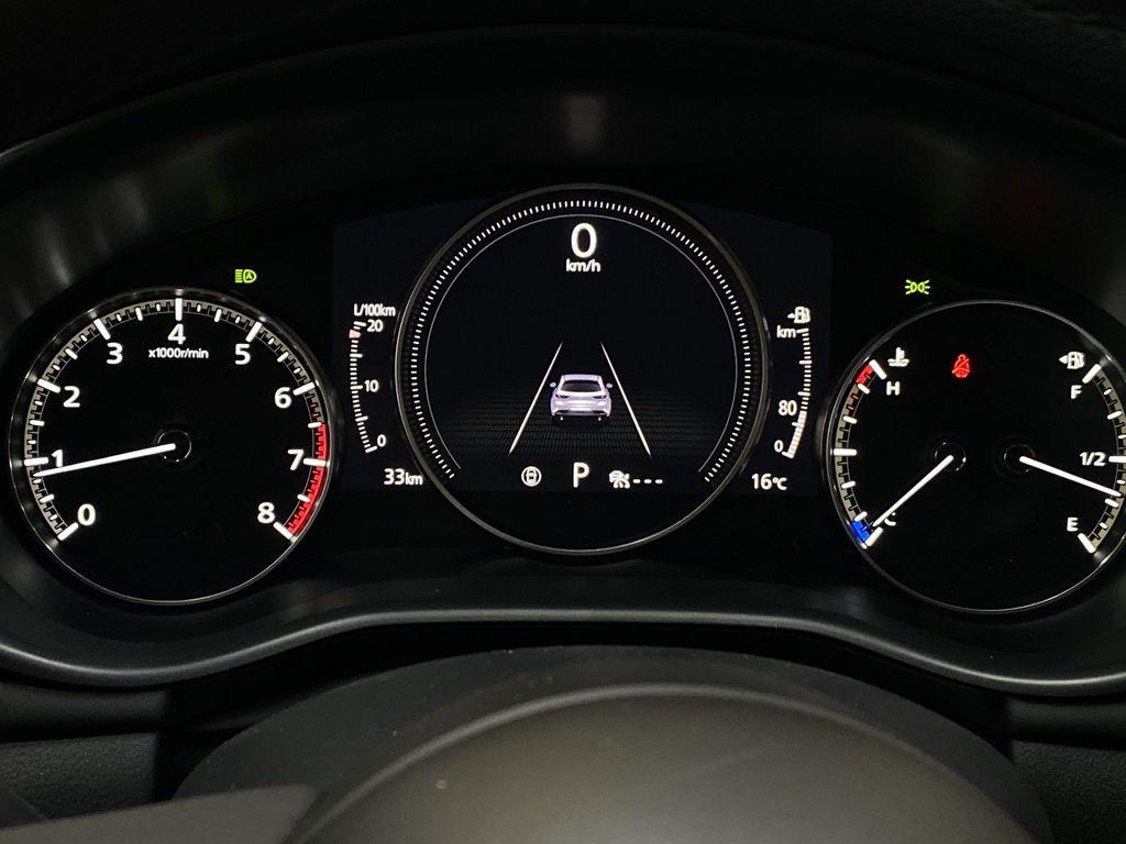 TITANIUM FLASH MICA(42S) 2021 Mazda Mazda3 Sport GT Premium FWD Odometer Photo in Edmonton AB
