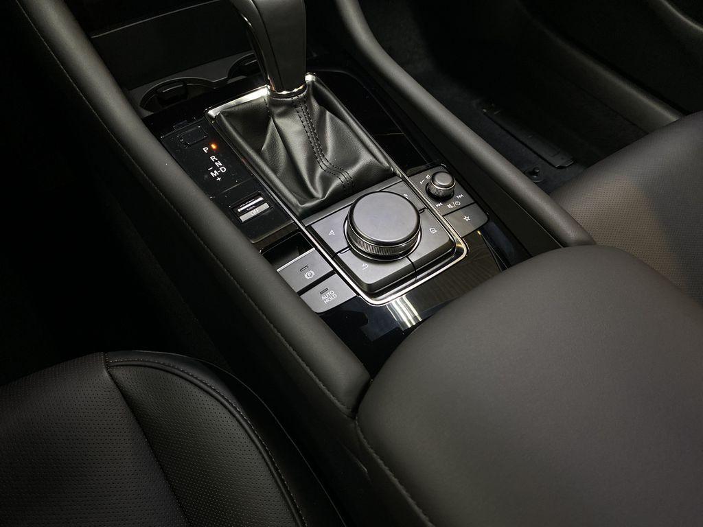 TITANIUM FLASH MICA(42S) 2021 Mazda Mazda3 Sport GT Premium FWD Center Console Photo in Edmonton AB
