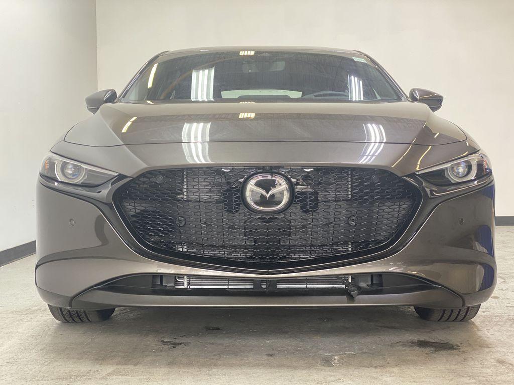 TITANIUM FLASH MICA(42S) 2021 Mazda Mazda3 Sport GT Premium FWD Front Vehicle Photo in Edmonton AB