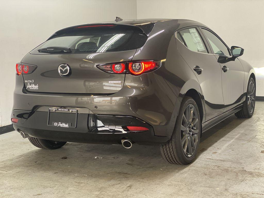 TITANIUM FLASH MICA(42S) 2021 Mazda Mazda3 Sport GT Premium FWD Right Rear Corner Photo in Edmonton AB