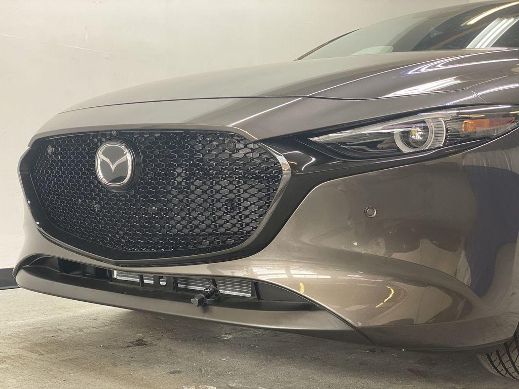 TITANIUM FLASH MICA(42S) 2021 Mazda Mazda3 Sport GT Premium FWD Left Front Head Light / Bumper and Grill in Edmonton AB