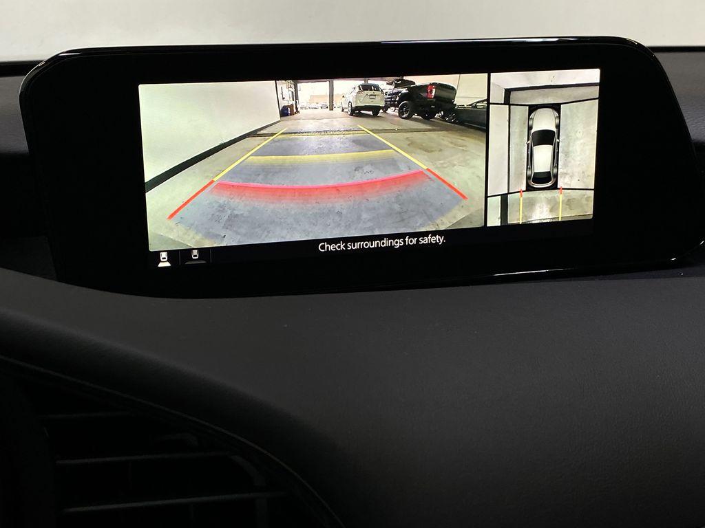 TITANIUM FLASH MICA(42S) 2021 Mazda Mazda3 Sport GT Premium FWD Backup Camera Closeup Photo in Edmonton AB