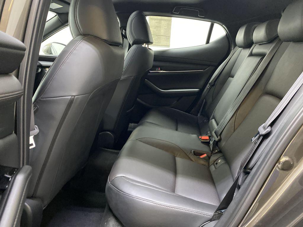 TITANIUM FLASH MICA(42S) 2021 Mazda Mazda3 Sport GT Premium FWD Left Side Rear Seat  Photo in Edmonton AB