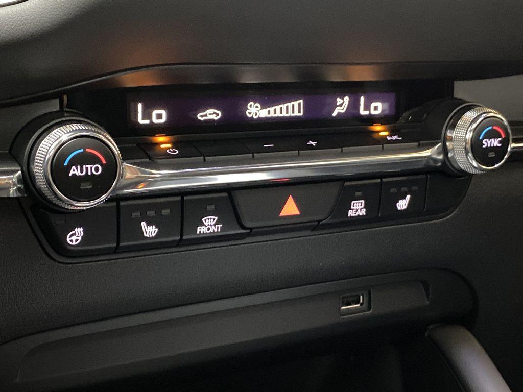 TITANIUM FLASH MICA(42S) 2021 Mazda Mazda3 Sport GT Premium FWD Central Dash Options Photo in Edmonton AB