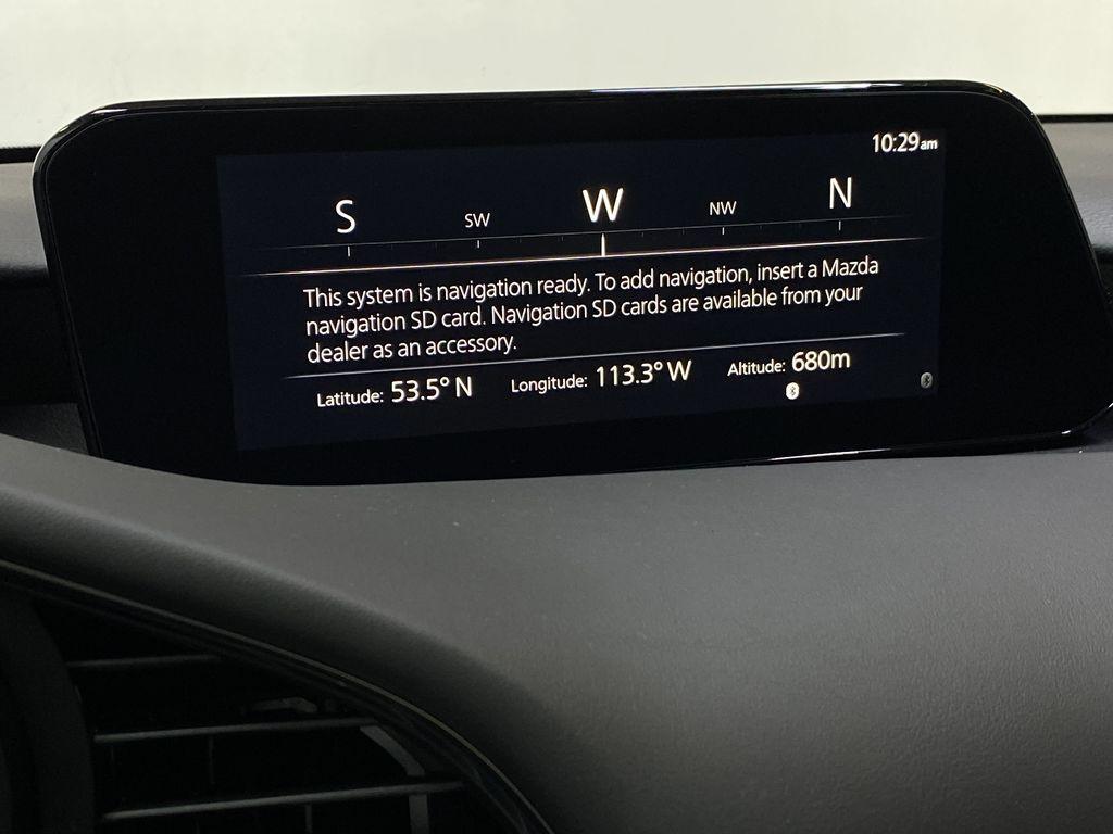 TITANIUM FLASH MICA(42S) 2021 Mazda Mazda3 Sport GT Premium FWD Navigation Screen Closeup Photo in Edmonton AB
