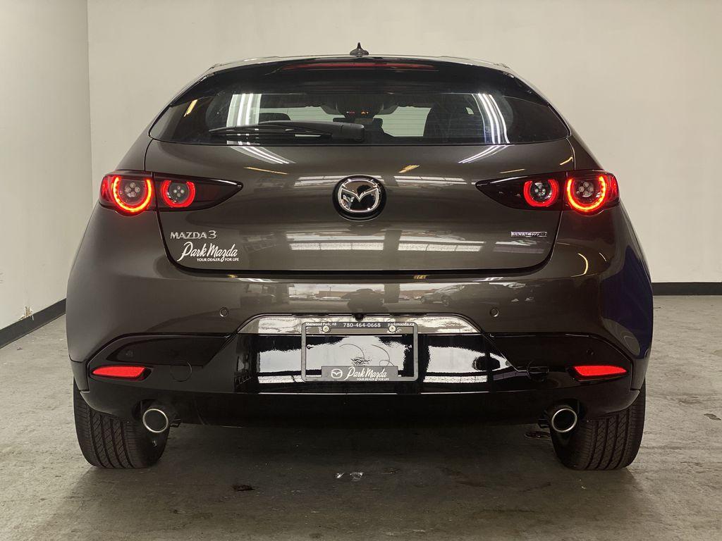 TITANIUM FLASH MICA(42S) 2021 Mazda Mazda3 Sport GT Premium FWD Rear of Vehicle Photo in Edmonton AB