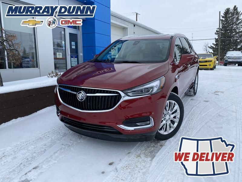 Cherry Red Tintcoat 2022 Buick Enclave Premium AWD