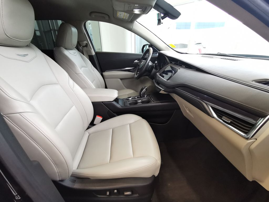 Black[Stellar Black Metallic] 2019 Cadillac XT4 Right Side Front Seat  Photo in Edmonton AB
