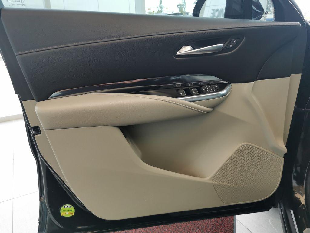 Black[Stellar Black Metallic] 2019 Cadillac XT4 Left Front Interior Door Panel Photo in Edmonton AB