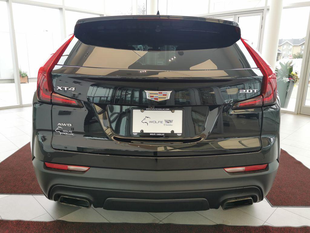 Black[Stellar Black Metallic] 2019 Cadillac XT4 Rear of Vehicle Photo in Edmonton AB