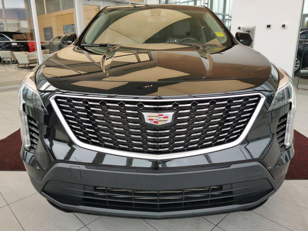 Black[Stellar Black Metallic] 2019 Cadillac XT4 Front Vehicle Photo in Edmonton AB