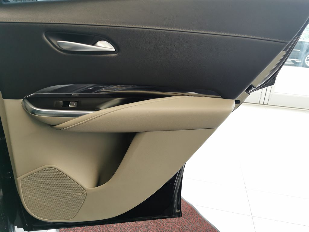 Black[Stellar Black Metallic] 2019 Cadillac XT4 Right Rear Interior Door Panel Photo in Edmonton AB
