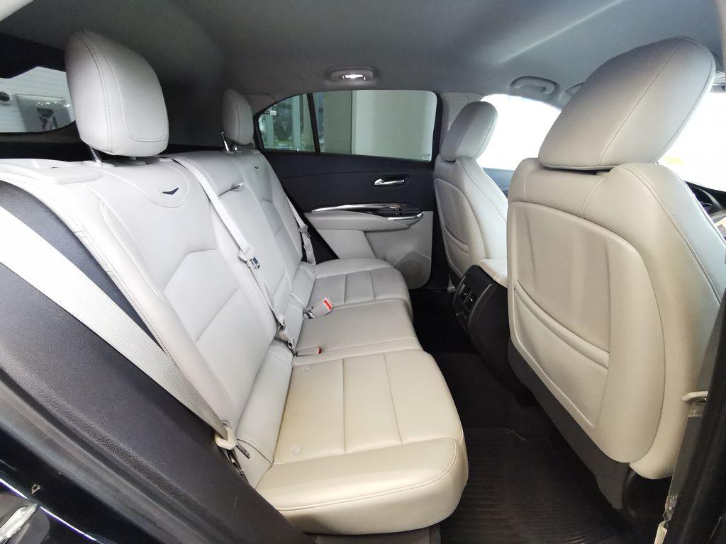 Black[Stellar Black Metallic] 2019 Cadillac XT4 Right Side Rear Seat  Photo in Edmonton AB